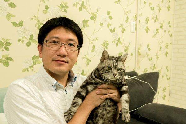 施主様と愛猫
